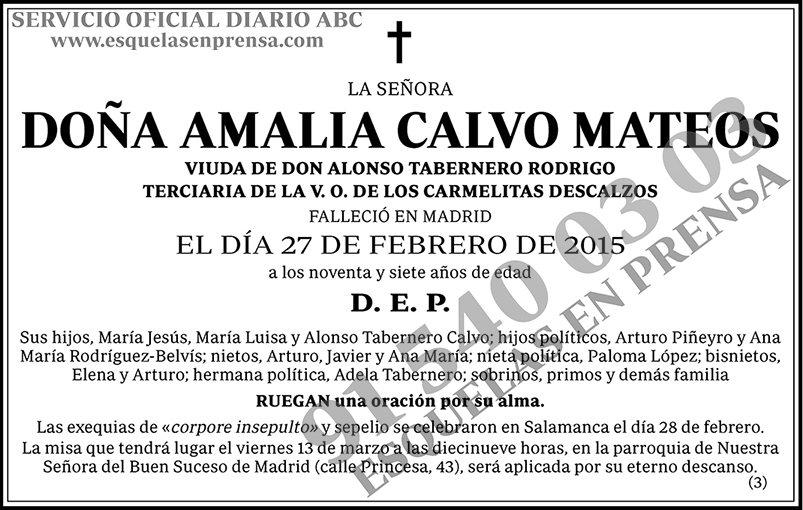 Amalia Calvo Mateos